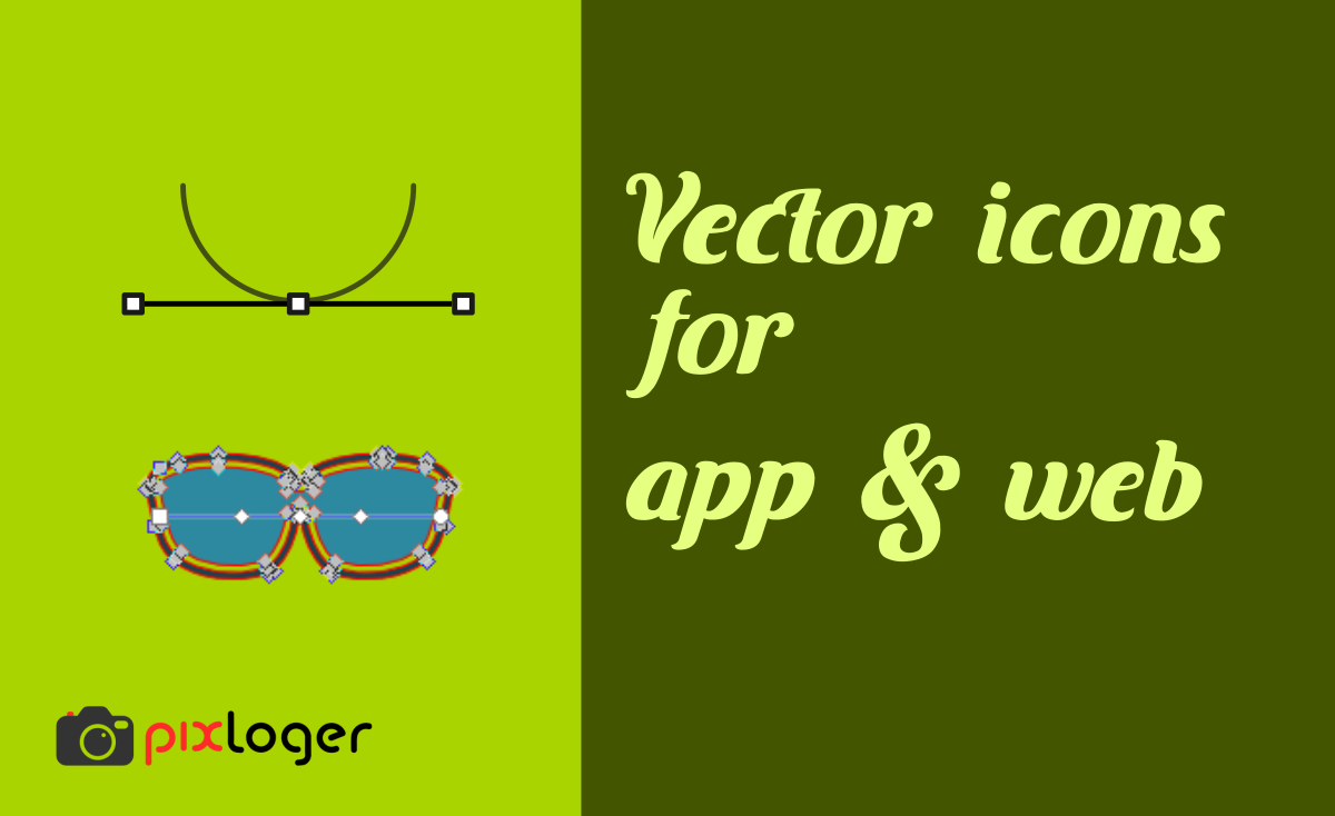 Vector icon resources for apps and web