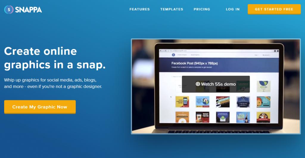 Snappa online graphic designer